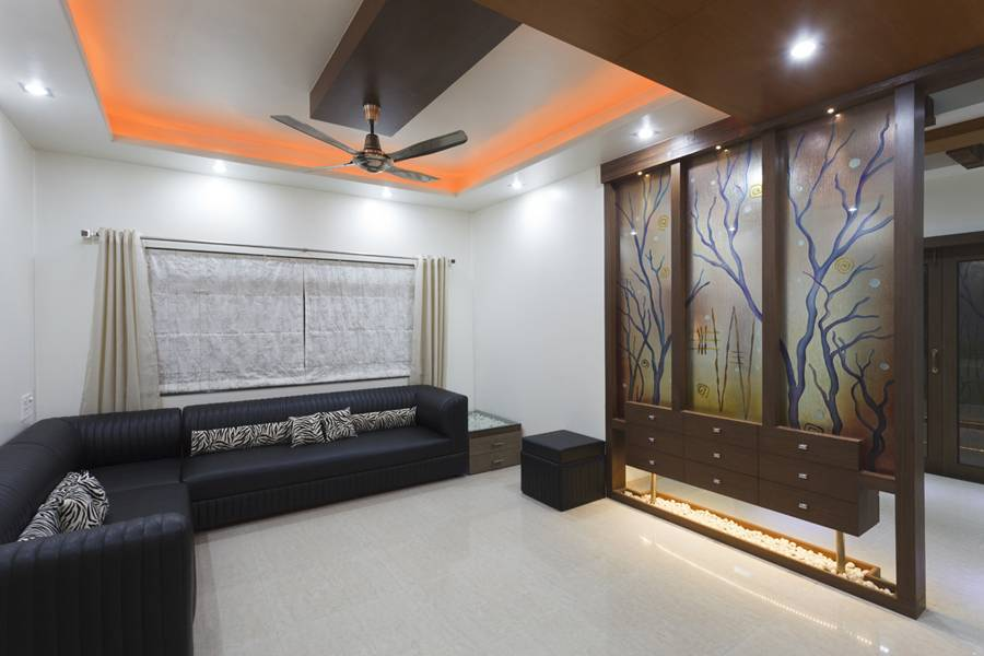 Interior designs for living room tv room interiors pune - Interior design for living room and bedroom ...